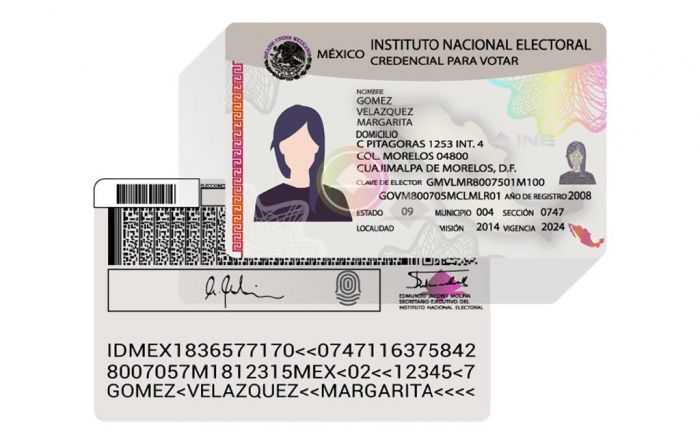 Credencial para votar (INE)