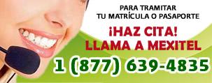 Llame al 1 877 639 4835 para hacer una cita