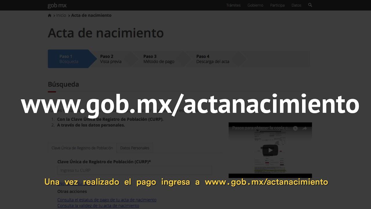 Famoso Acta De Nacimiento Arakkonam Festooning - Cómo conseguir mi ...
