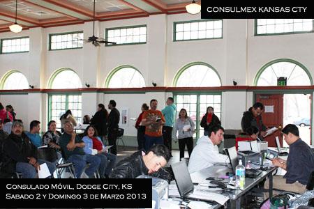 marzo del 2013 se llev a cabo un consulado m vil en dodge city ks. Cars Review. Best American Auto & Cars Review