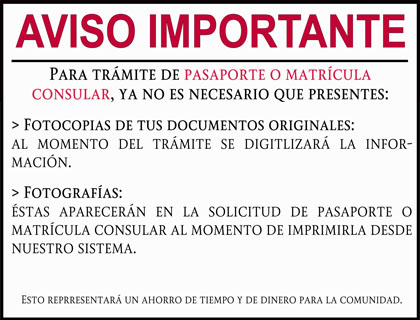 el pasaporte mexicano: