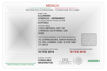 Matr cula consular for Who is a consular